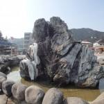日光-東武日光駅前の噴水
