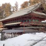 日光-輪王寺三仏堂の裏にある建物