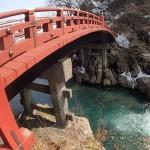 日光-帰り道からの神橋