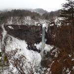 華厳の滝の上からの写真