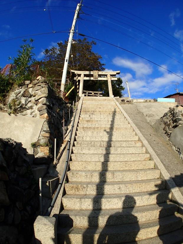 男木島の豊玉姫神社