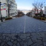 八幡坂の頂上