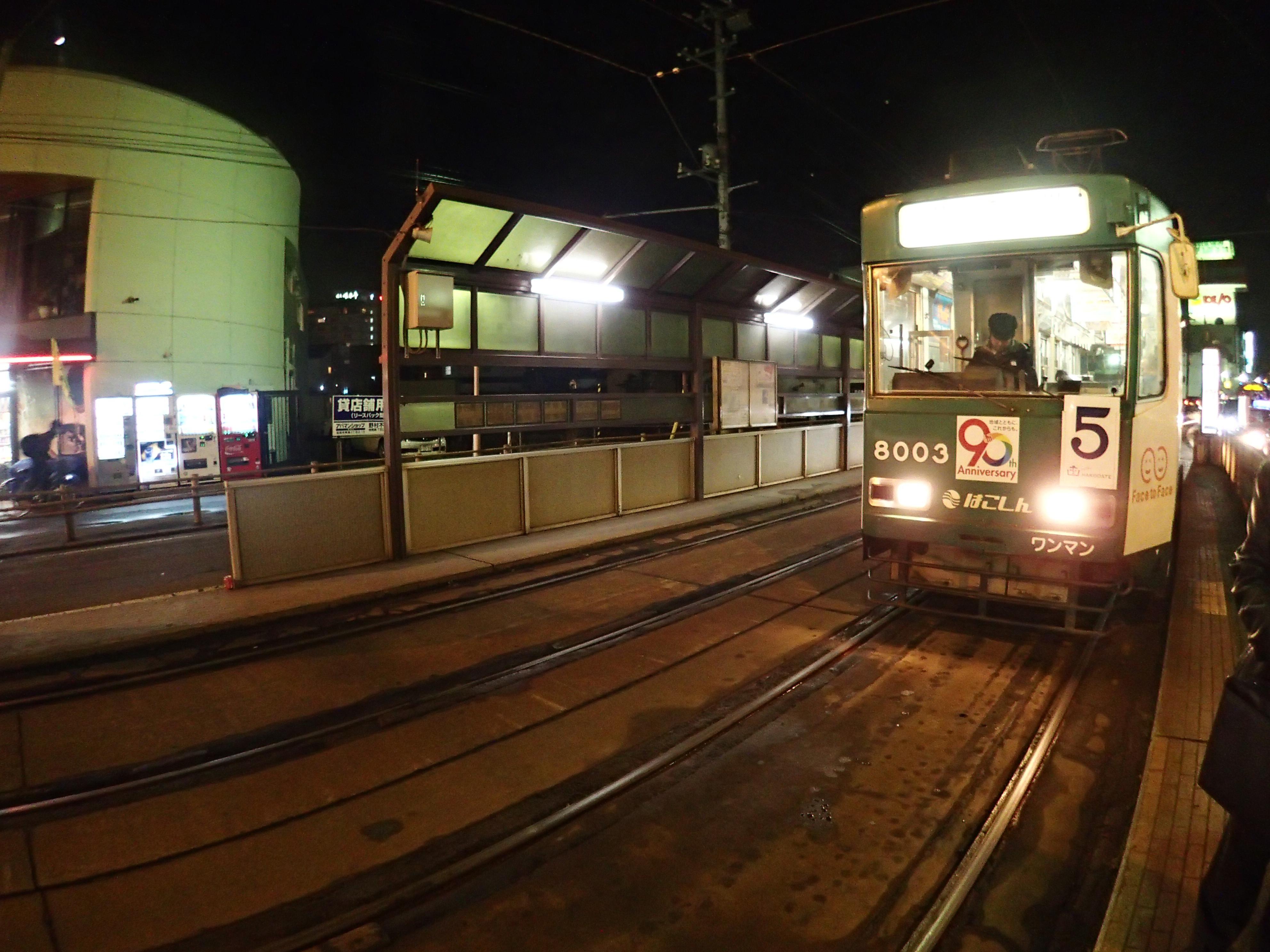 湯の川温泉駅