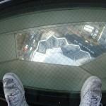 足元の覗き窓