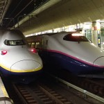 上越新幹線の車両2タイプ